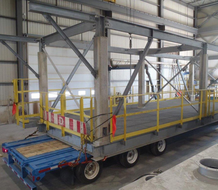 ACHIEVEMENT #26  WORKSHOP / FIREPROOFING   Our vast workshops enable us to produce very large parts.…